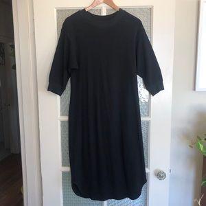 Waffle 'Thermal' Style Dress
